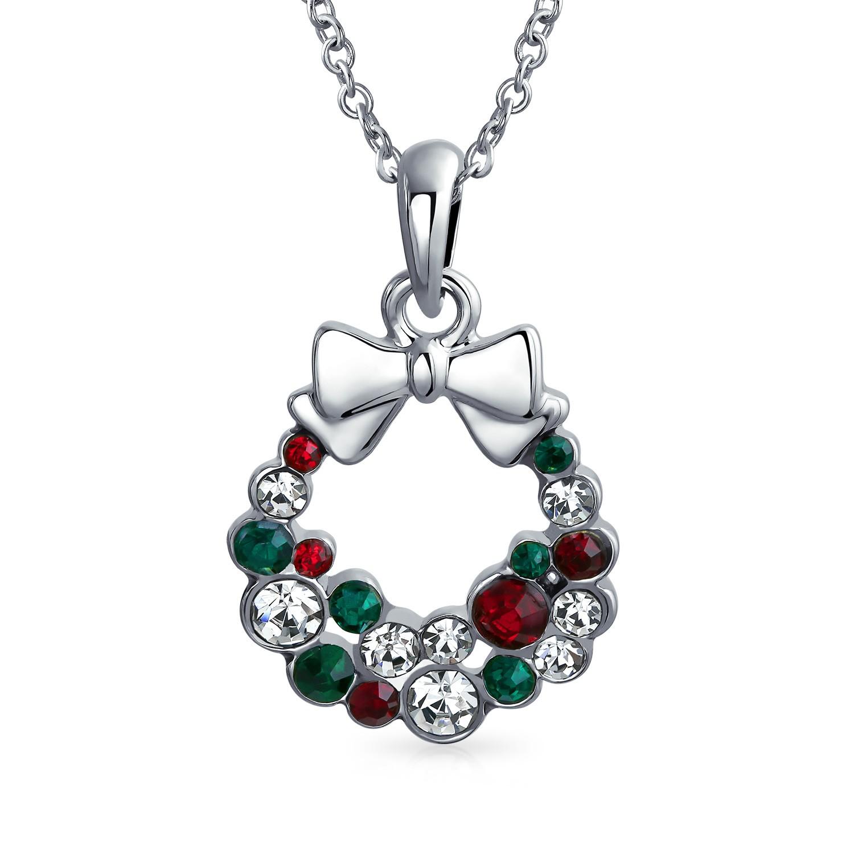 Santa Wreath Pendant - $14.39 + $2.99 Shipping @ Bling Jewelry $17.38