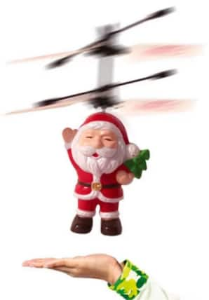 Santa Claus LED Light Aircraft Toy - $4.99 + Free Shipping @ Gamiss