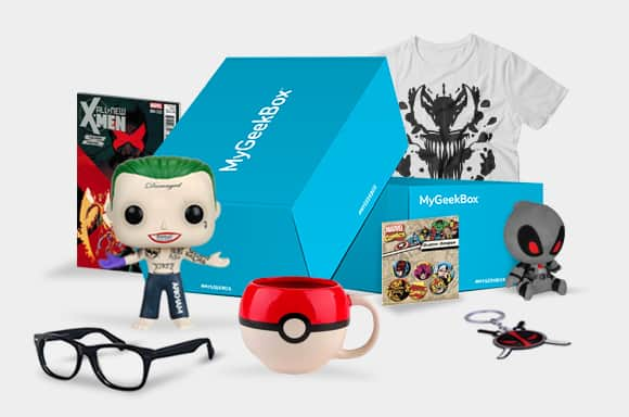 Geeky Subscription Box  - $22.99 per Month @ MyGeekBox