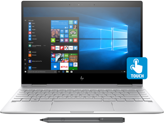 "HP Spectre X360 13t Laptop: i7-8550U, 15.6"" 4K Touch, 8GB DDR4"