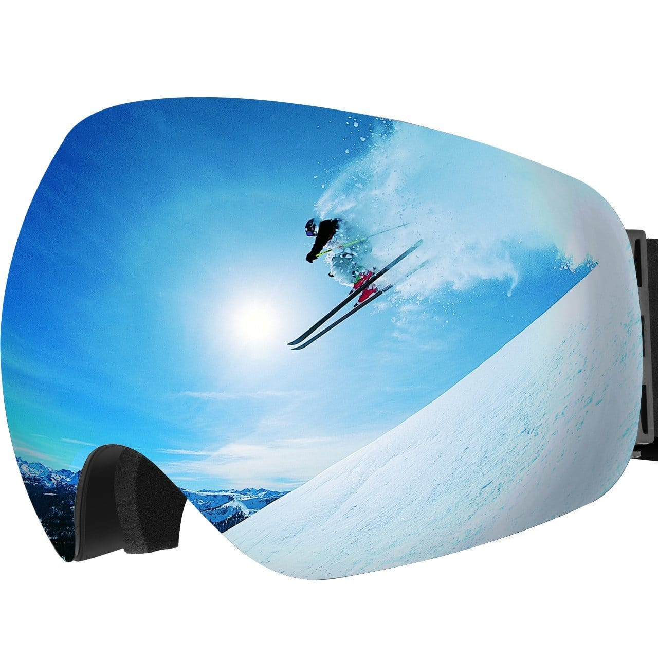 Ski Goggles with anti fog and UV Protection - $16.99 + Free Prime Shipping @ Amazon
