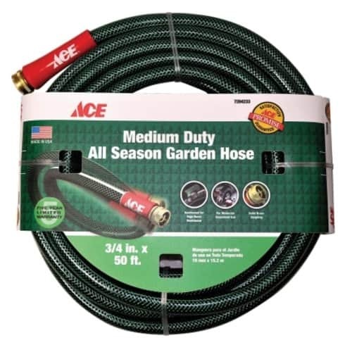 All Season 50ft Garden Hose - $19.99 + Free In Store Pickup @ Ace Hardware