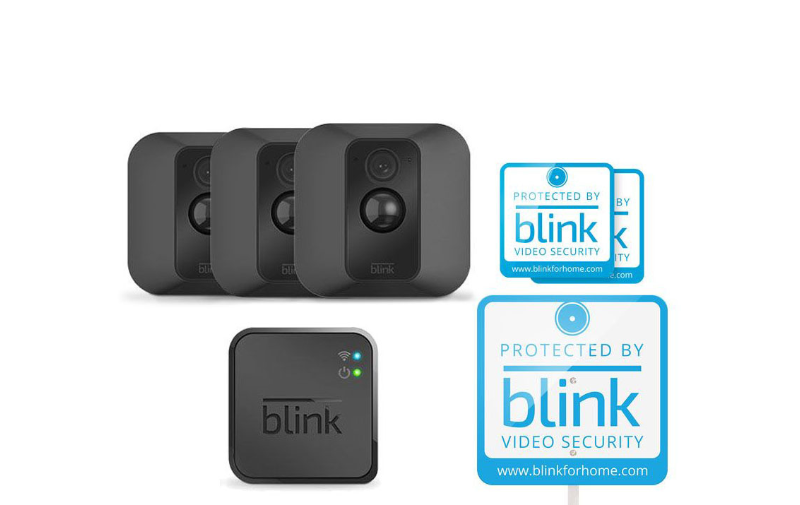Blink XT 3pk Wifi Cameras $234.95 after Slickdeals Rebate + Free Shipping @ QVC