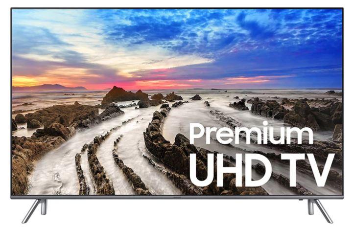 "Samsung 65"" LED Ultra HD 4K Smart TV with HDR (un65MU8000) - $1,099.96 + Free Shipping @ PC Richard"