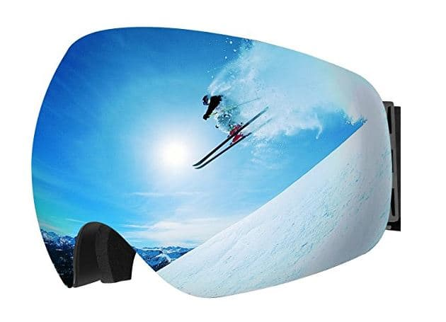 Ski Goggles, Anti-Fog & UV400 Protection - $12.99 + Free Prime Shipping @ Amazon