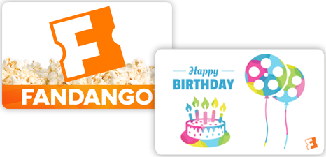 Free Movie Ticket (up to $15) w/ Purchase of $75+ Worth of Fandango Gift Cards