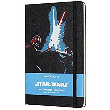 Amazon Add-on Item: Moleskine Star Wars Lightsaber Duel Notebook (Hardcover) $5.57