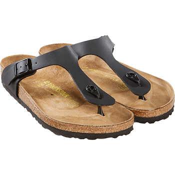 5c973528322 Costco Members  Birkenstock Gizeh Birko-Flor Women s Sandals ...