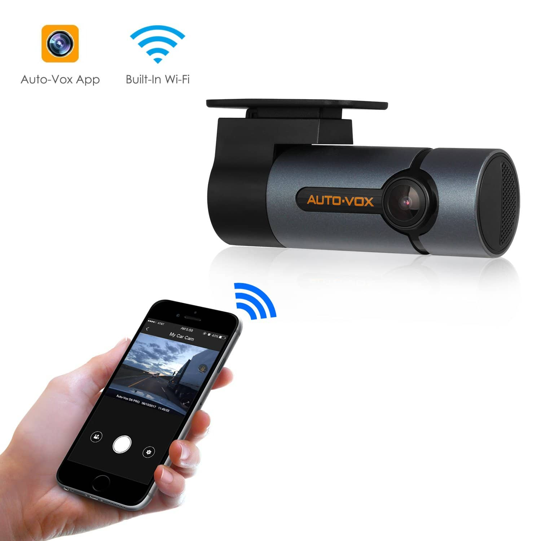 Auto-Vox D6 Pro WiFi Dash Cam 300°Rotate Angle FHD 1080P Dashboard Camera Recorder with Super Night Vision for $62.99 @Amazon