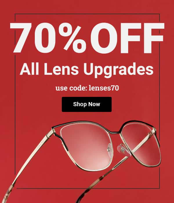 89bb63d945 GlasssesUSA - 70% OFF All Lens Upgrades   80 OFF Progressive Lenses  50% OFF    BOGO