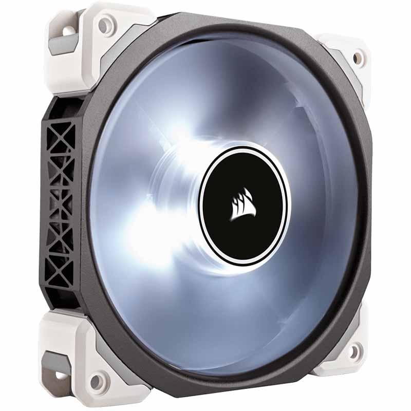 Corsair ML120 Pro LED 120mm Premium Magnetic Levitation Fan - White $19.99