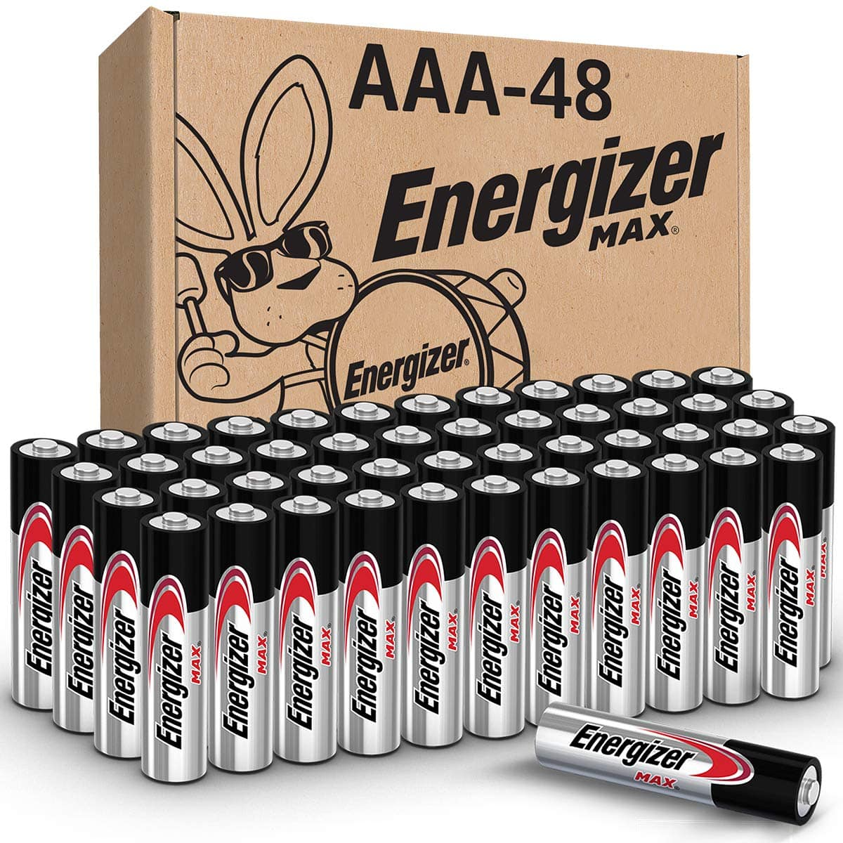 Energizer AAA Batteries (48 Count), Triple A Max Alkaline Battery - $17.98 or ~15.23 w/ SS