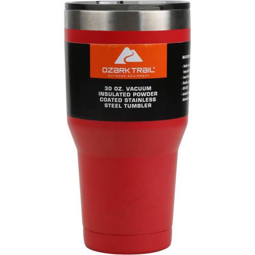 Ozark Trail 30oz Double-Wall Vacuum-Sealed Tumbler, $5