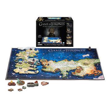 Game of Thrones Westeros & Essos 891-pcs 4D Puzzle, $26.99