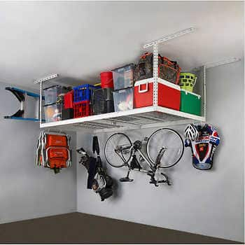 Costco: SafeRacks Garage Shelving (or) Overhead Garage Storage Rack w/ Accessories kit, from $159.99