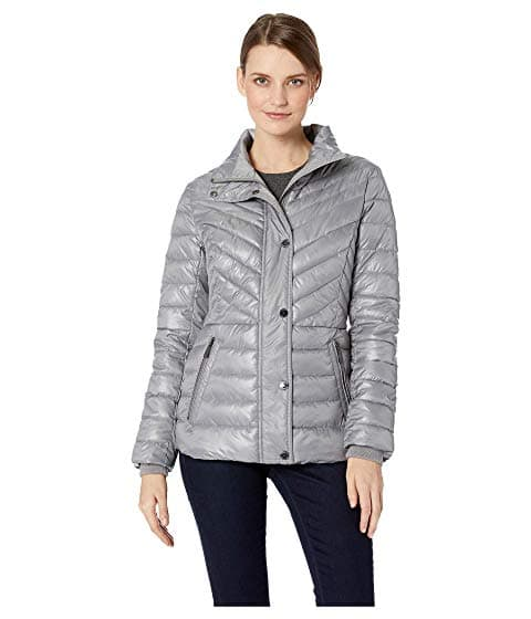 d7feafbbc Kenneth Cole New York Faux Fur Trimmed Short Puffer Jacket, $41.99 ...