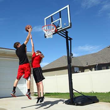 "Lifetime 52"" XL Portable Basketball System + Free S&H, $219.99"