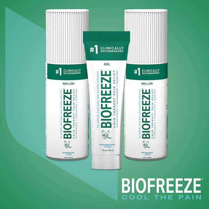 Costco : Biofreeze Pain Reliever 7 Oz Pack + Free S&H, $24.99