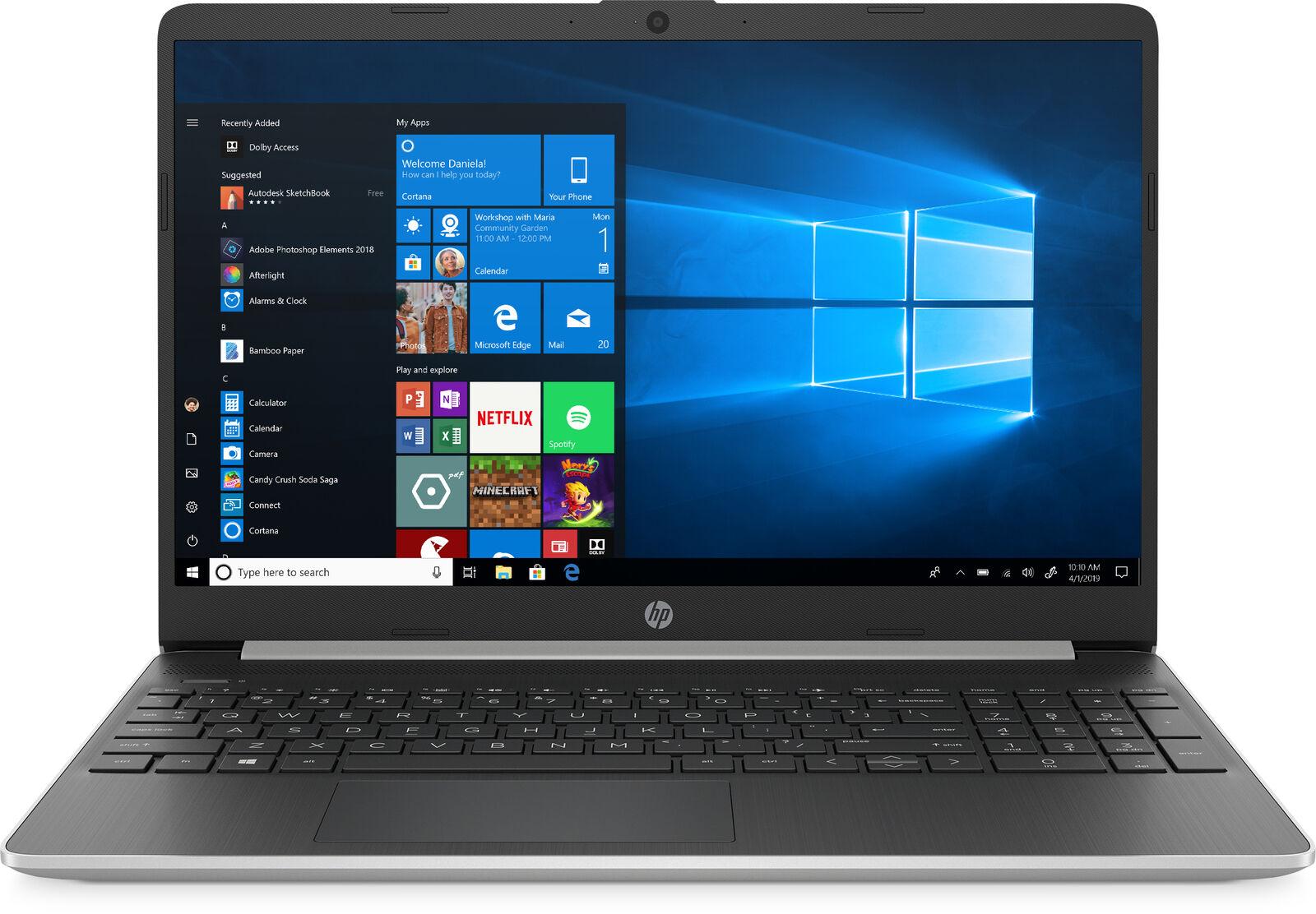 "eBay: HP Laptop 15.6"" Intel i5 10th Gen 8GB RAM 512GB SSD, $399 + Free Shipping"