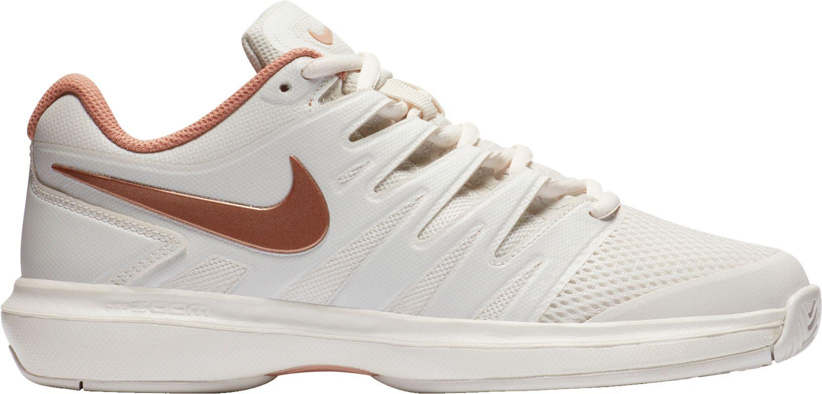 Nike Women's Air Zoom Prestige Tennis Shoes in Rose Gold, $34