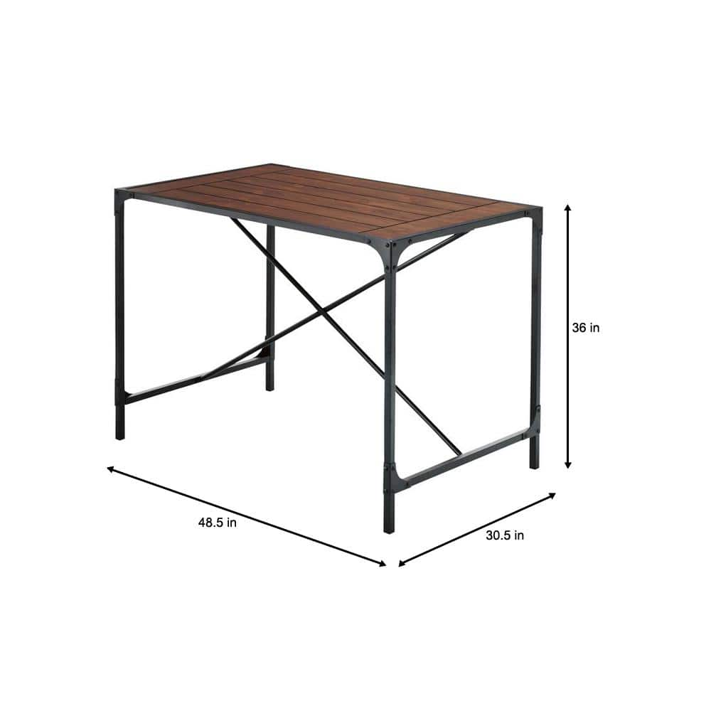 Home Depot: Industrial Empire Black Pub/Bar Table w/ Free Store Pickup, $90