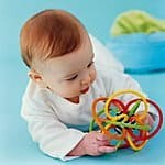 Manhattan Toy Winkel Color Burst Rattle and Sensory Teether Activity Toy $7.56 & FREE Shipping