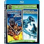 Godzilla Against Mechagodzilla (2002) / Godzilla, Mothra, and King Ghidorah: Giant Monsters All-Out Attack - Set [Blu-ray]  $7.15