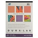 Grafix Clear .005 Dura-Lar Film, 9-Inch by 12-Inch, 25 Sheets $11.36 & FREE Shipping