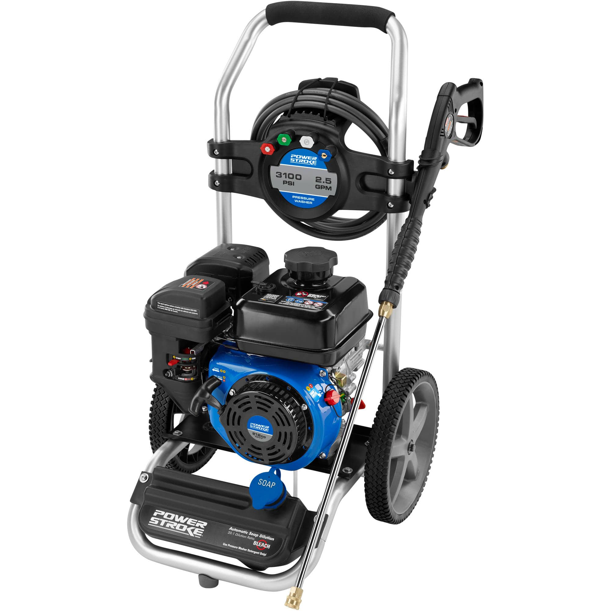 PowerStroke 3100 PSI Gas Pressure Washer Walmart $249 B&M YMMV