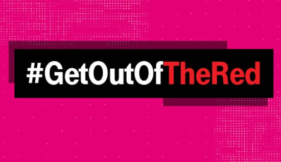T-Mobile Get Out of the Red Promo Starting May 31