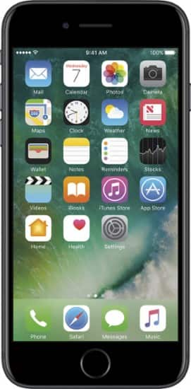 iPhone 7 32 GB $14.99 a Month for Sprint Free 2 Day Shipping at Best Buy