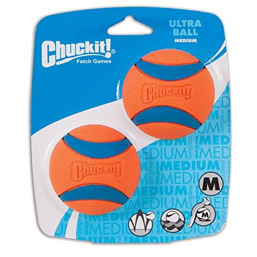 ChuckIt! Ultra Ball Medium (2) - $3.25 + FS with Amazon Add-on