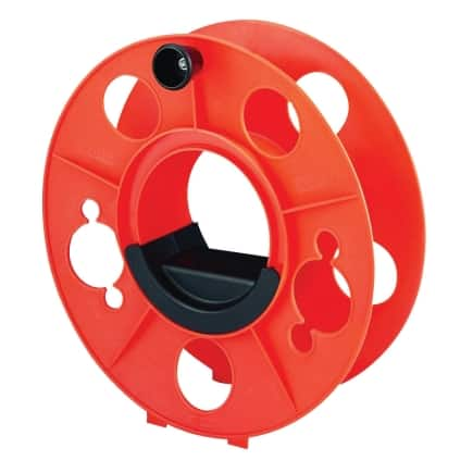 Bayco KW-130 Cord Storage Reel with Center Spin Handle, 150-Feet (Amazon Add-On) $3.71