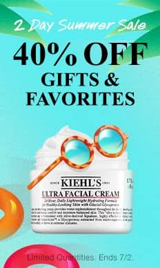 Kiehl's: 40% Off Select Sets and Products