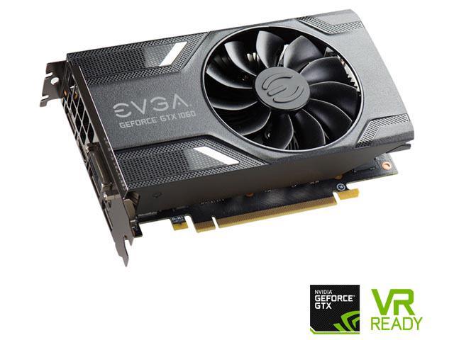EVGA GeForce GTX 1060 DirectX 12 06G-P4-6161-KR 6GB $224.99 with PayPal Checkout
