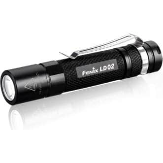 Fenix LED flashlight sale - 60% retail pricing with Fry's daily (5/26) email code - LD02 $11.98, PD35 $27.98 and others - B&M only