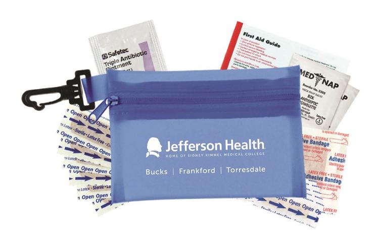 Free Jefferson Health First Aid kit