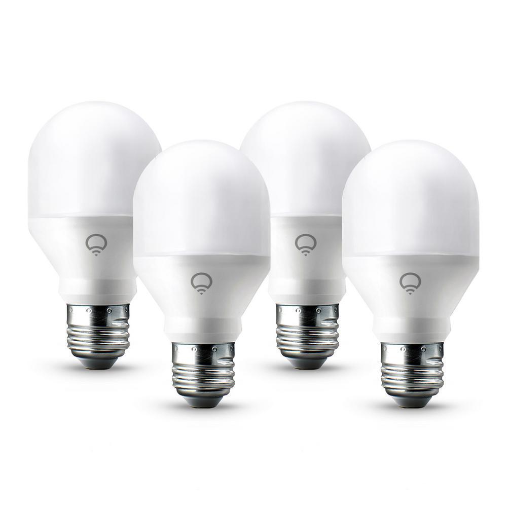 LIFX Mini Color Light Bulb 4-pack $40.03 Home Depot B&M YMMV