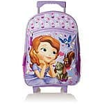Fast Forward Girl's Sophia The First Roller Backpack $8.28 & FREE Shipping w/ Prime