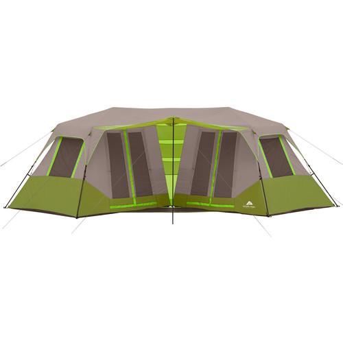 Ozark Trail 23' x 11'6 Instant Double Villa Cabin Tent, Sleeps 8, Green $81.75