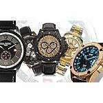 Manufacturer's Watch Clearance Event - Choice of 6 Different Brands $89.97 + FS @ Groupon