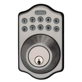 Kwikset SmartCode Deadbolt Door Lock $39 + Free In Store Pickup @ Lowes