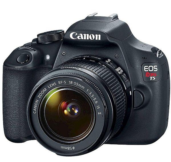 $164.98 clearance Target B&M YMMV - Canon EOS Rebel T5 II Kit 18MP Digital SLR Camera with EF-S 18-55mm Lens - Black