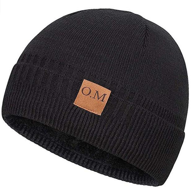 Bodvera Men's Winter Beanie Watch Hat Daily Knit Ridge Cuff Beanie $5.98/$6.58