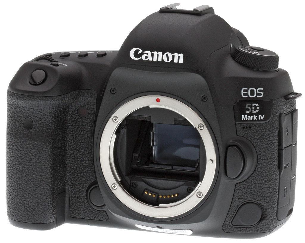 It's Back! Canon 5D Mark IV (Grey Market) - $2,749.99