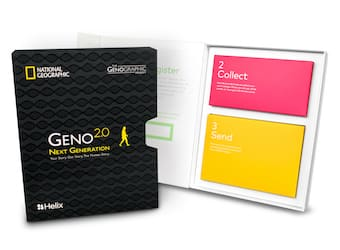 National Geographic' Genographic Project Geno 2.0 $69.95 + $10 Shipping