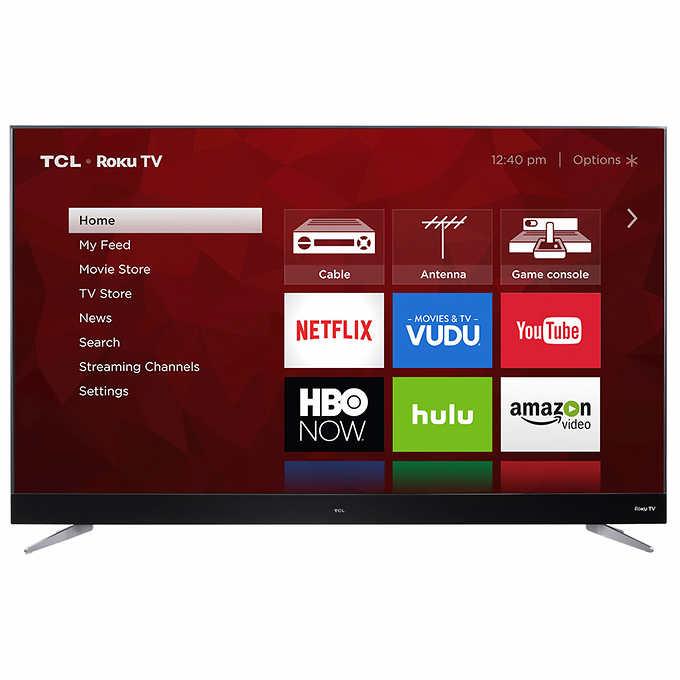 "TCL 75"" Class (74.5"" Diag.) 4K Ultra HD Roku LED LCD TV COSTCO $1499"