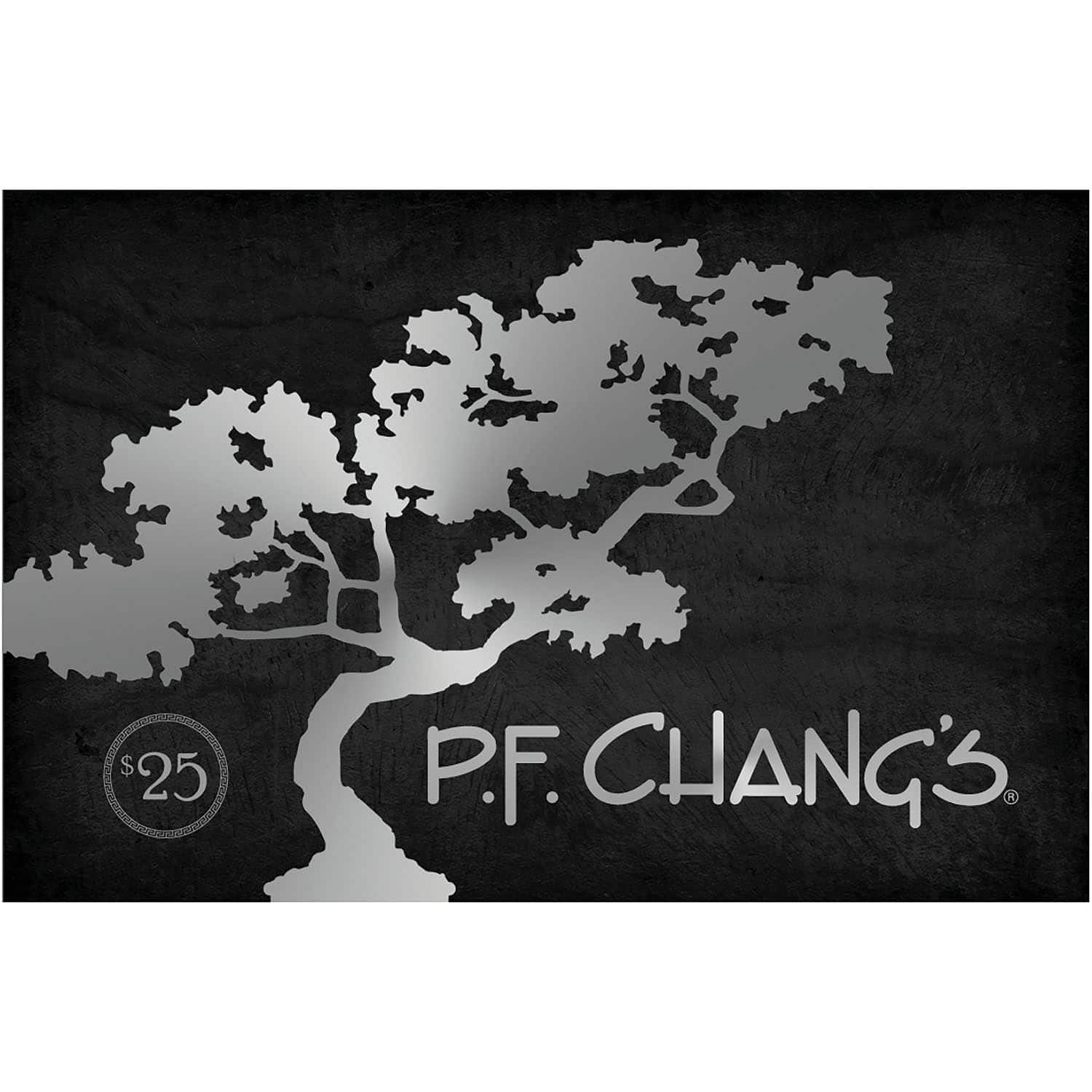 Sam's Club Members: PF Chang's $50 Value Gift Cards - 2 x $25 - $39.98 + Free shipping