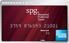 SPG  30,000 bonus Starpoints with The Starwood Preferred Guest Credit Card from American Express YMMV