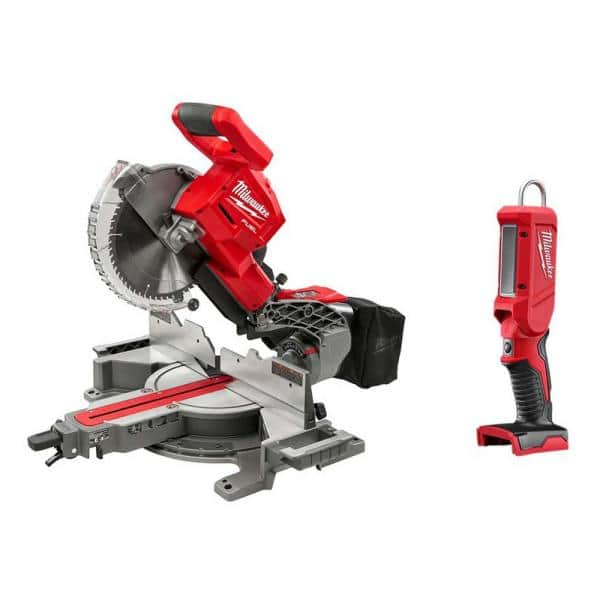 M18 FUEL 18-Volt Lithium-Ion Brushless 10 in. Cordless Dual Bevel Sliding Compound Miter Saw with LED Stick Light $398